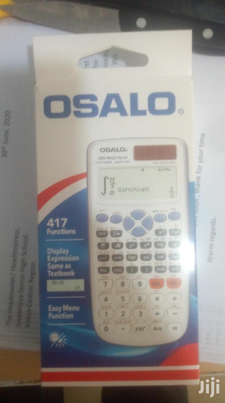 Archive: Osalo Scientific Calculator For Sale