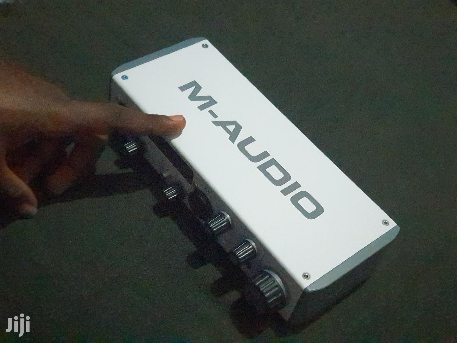 M-Audio M-Track MKII Audio Interface | Audio & Music Equipment for sale in Accra Metropolitan, Greater Accra, Ghana