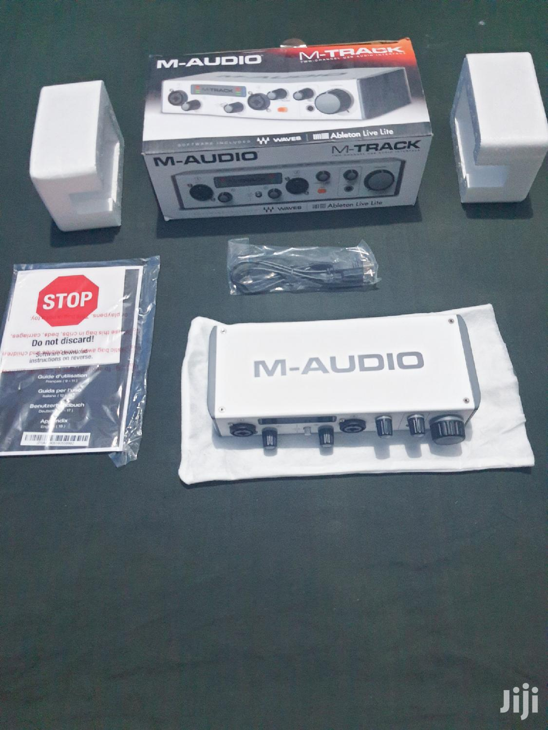 M-Audio M-Track MKII Audio Interface