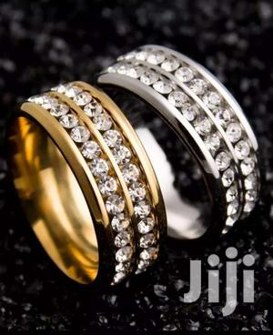 50pcs Gold/Silver Swarovski Crystal Stainless Steel Rings   Jewelry for sale in Greater Accra, Adenta