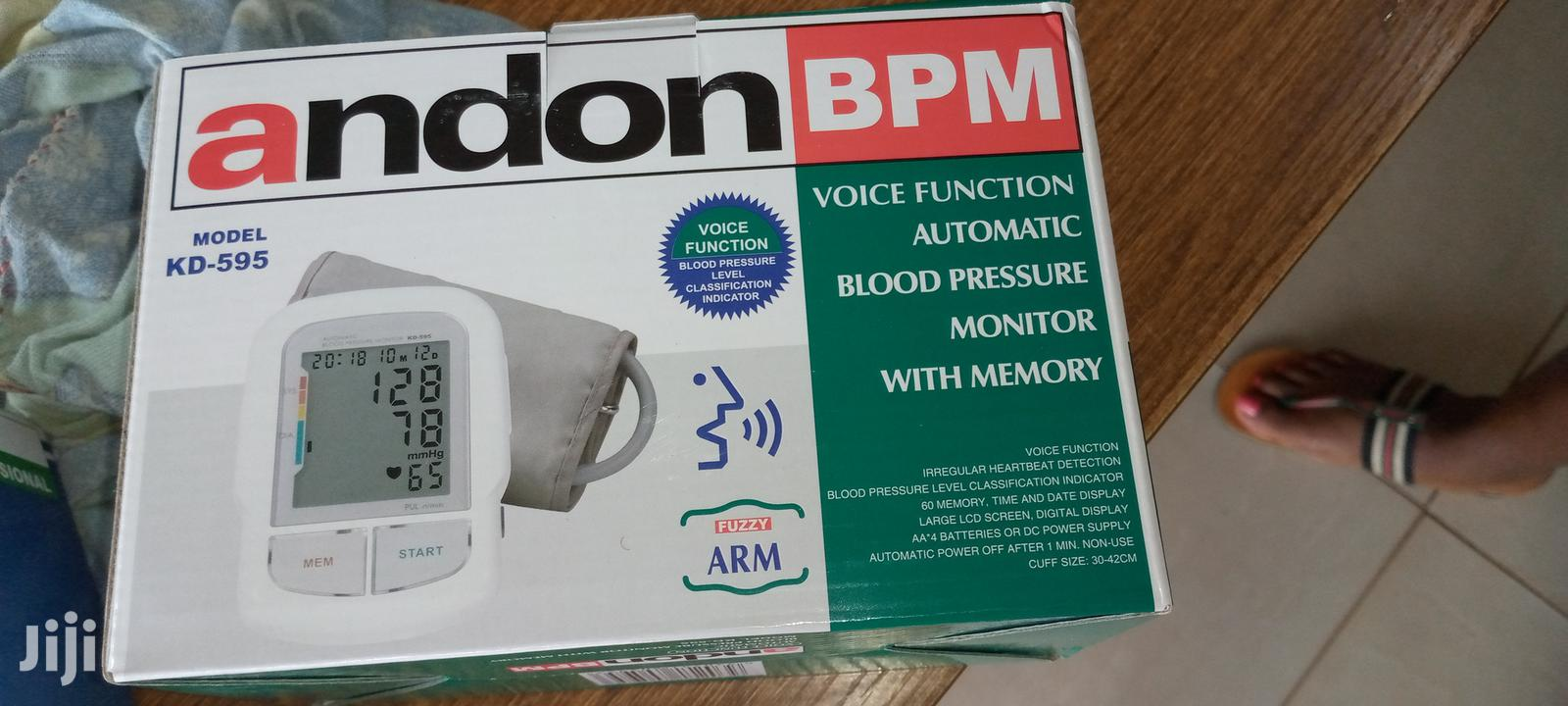 Archive: Andon BPM Voice Function Automatic Blood Pressure Monitor Wi
