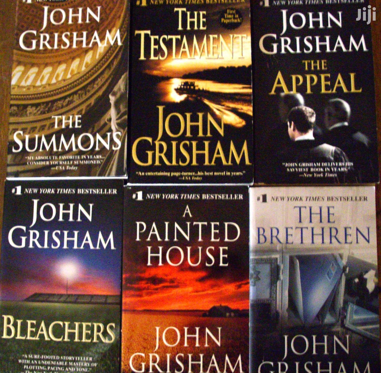 (9) John Grisham Bookset (E-books)