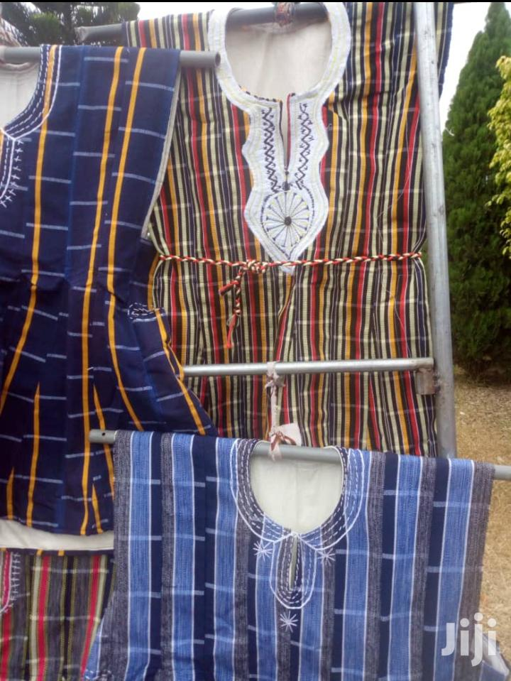 Smoke Kente Cloth