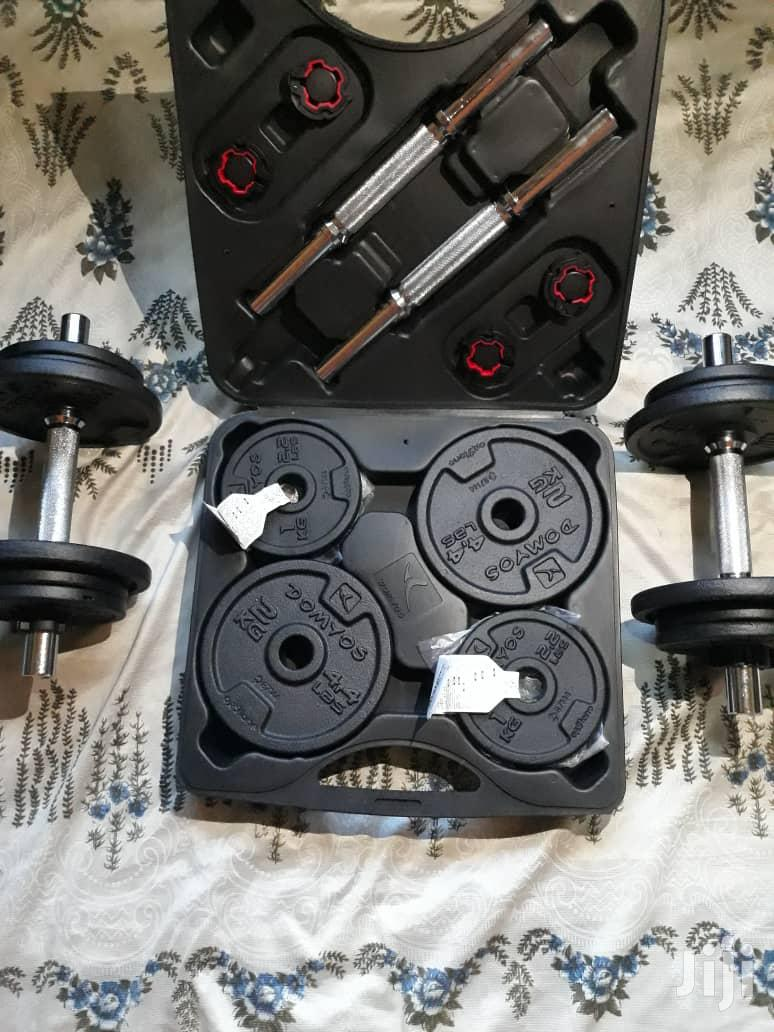 Dumbell 20kg Set Adjustable