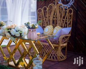 Queen Twin Cane Chair