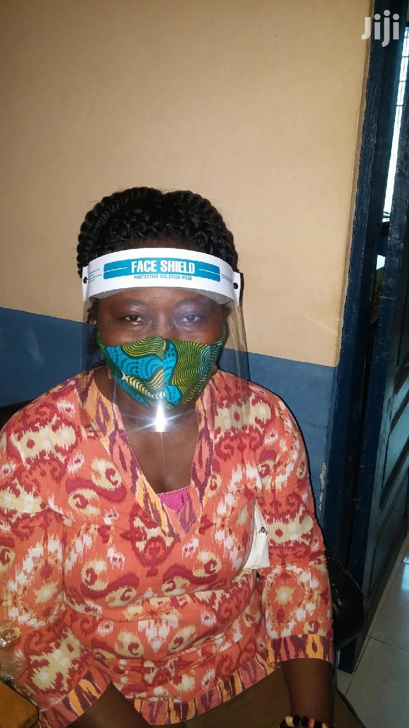 Face Shield With Nose Mask | Safety Equipment for sale in Achimota, Greater Accra, Ghana