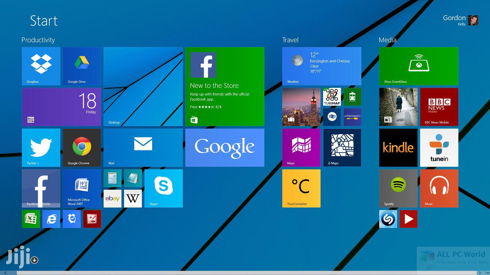 WINDOWS 8.1 PRO ACTIVATED 32 & 64 Bit UPDATED