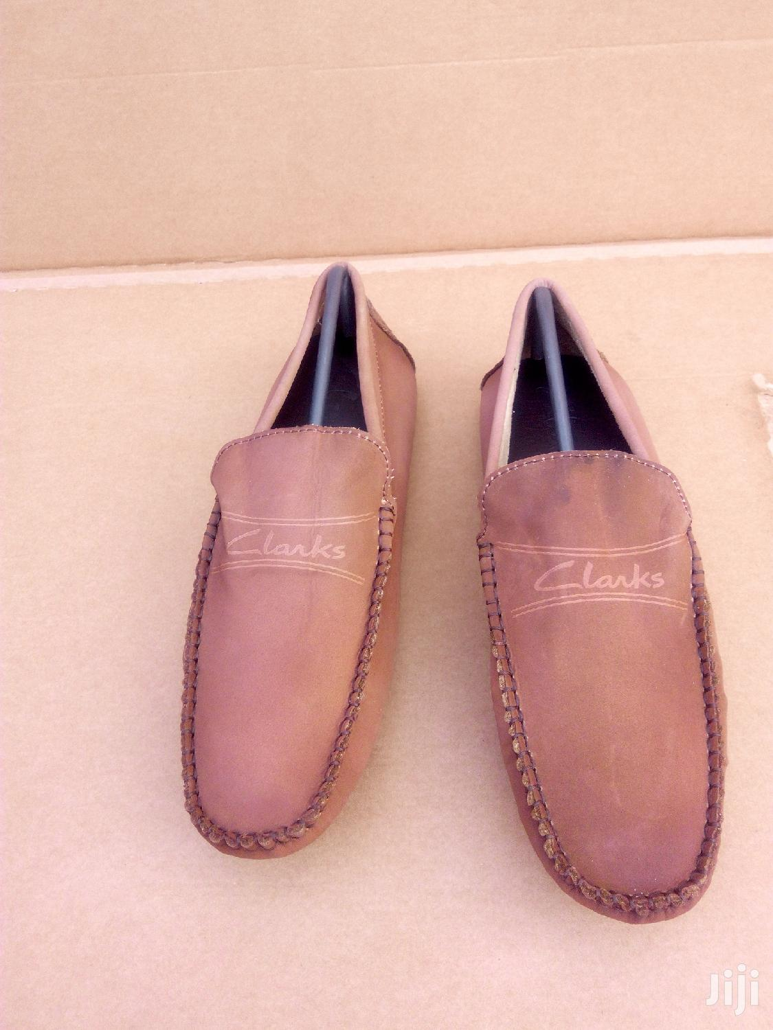 Clarks Loafers(Faded Brown)
