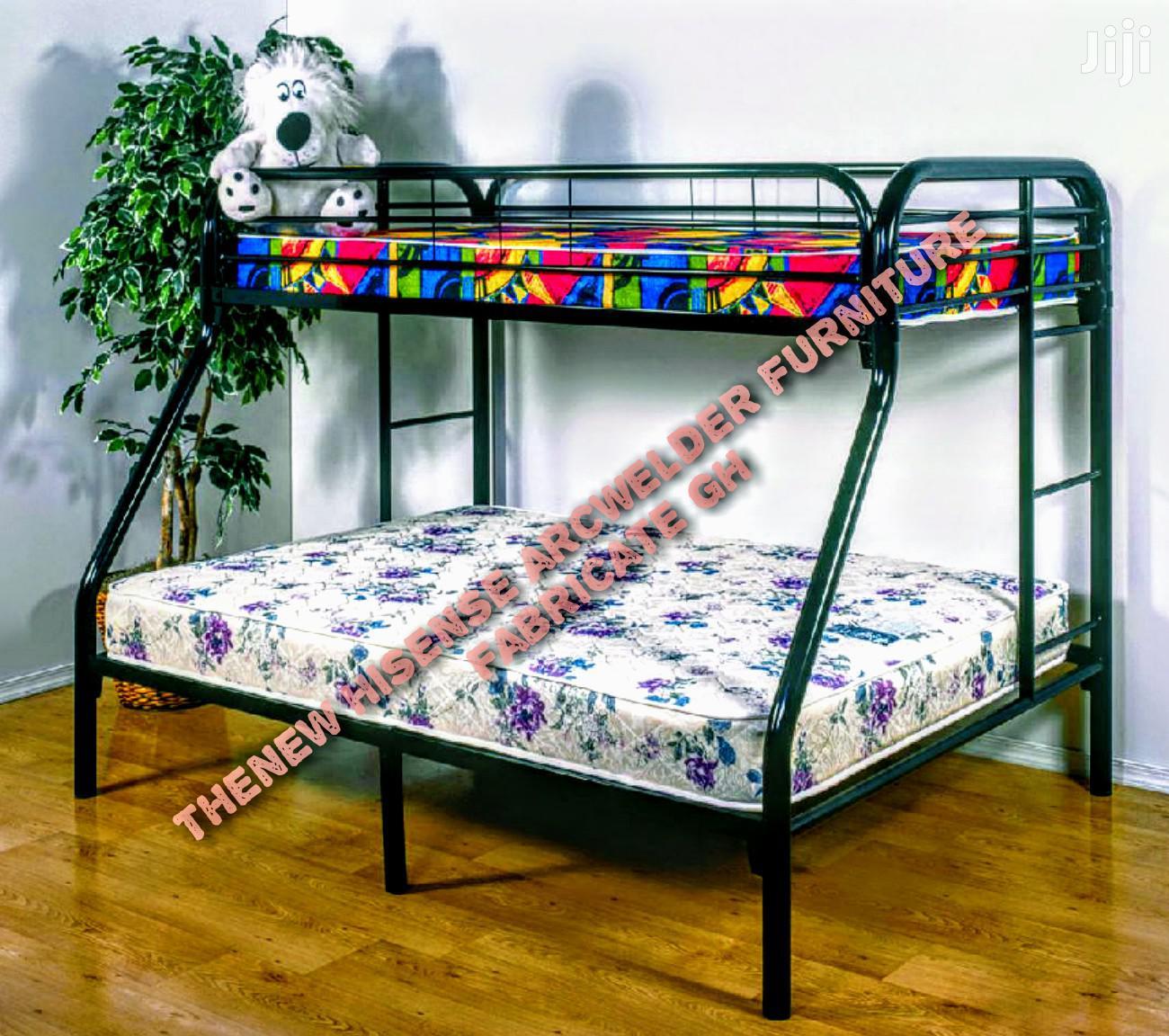Metal Bunk Bed In Achimota Furniture Henakku Solomon Jiji Com Gh