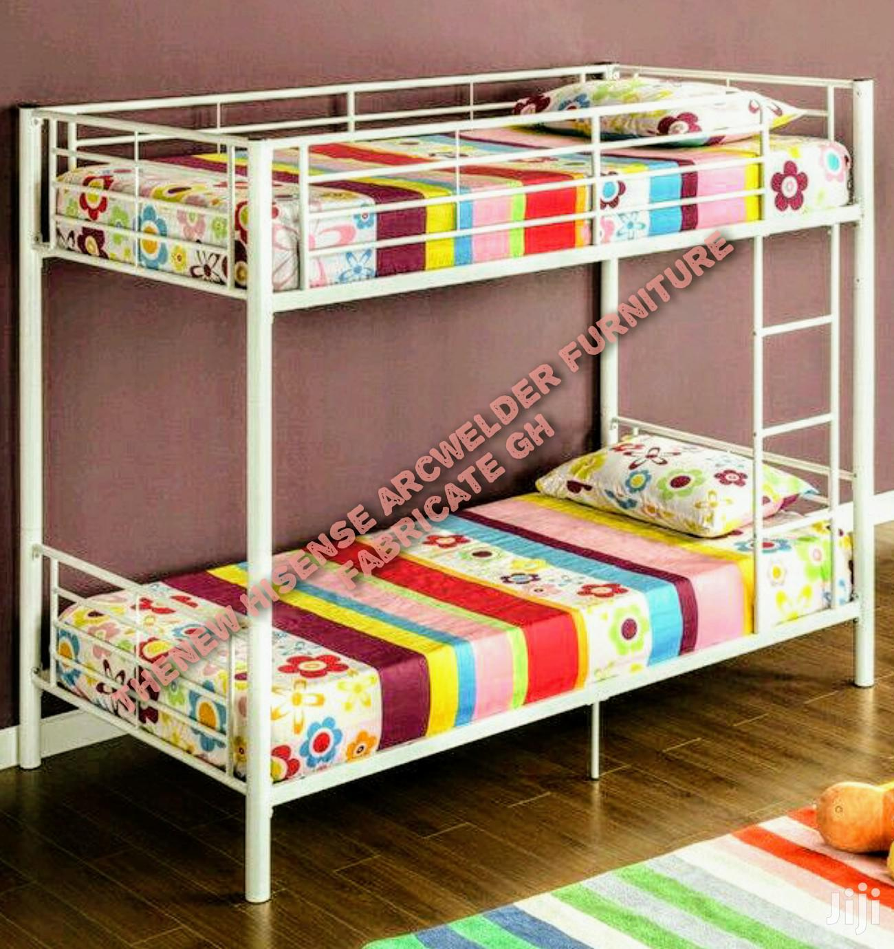Picture of: Metal Bunk Bed One And Have Size In Achimota Furniture Henakku Solomon Jiji Com Gh
