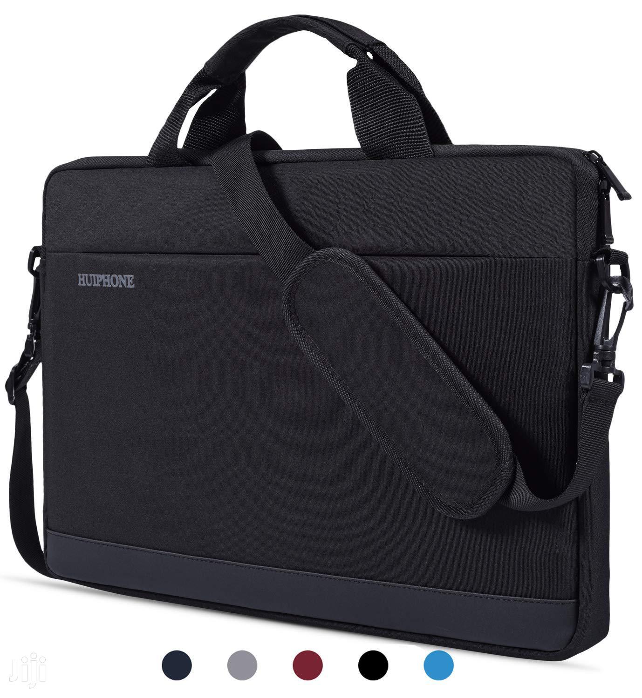 "Shoulder Handle Waterproof Laptop Bag - 14-15inches"" - Black"