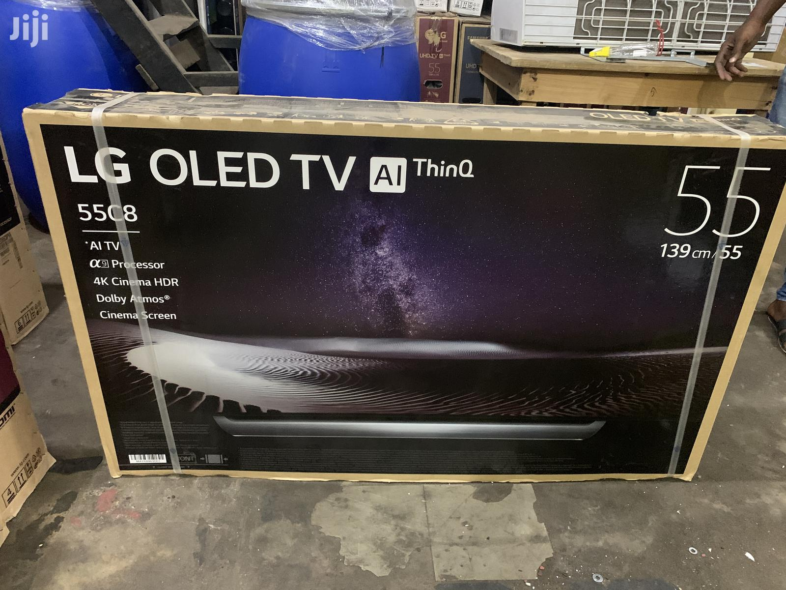 "New LG 55"" Oled Uhd Smart 4K (C8) Digital Satellite LED TV"