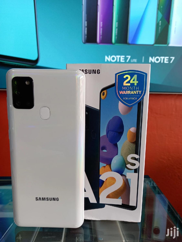Archive: New Samsung Galaxy A21s 64 GB Black