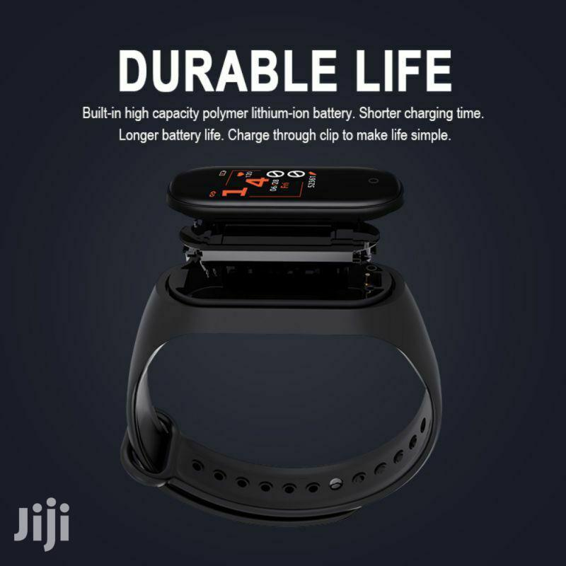 Smart Band Fitness Tracker N Heart Rate Blood Monitor