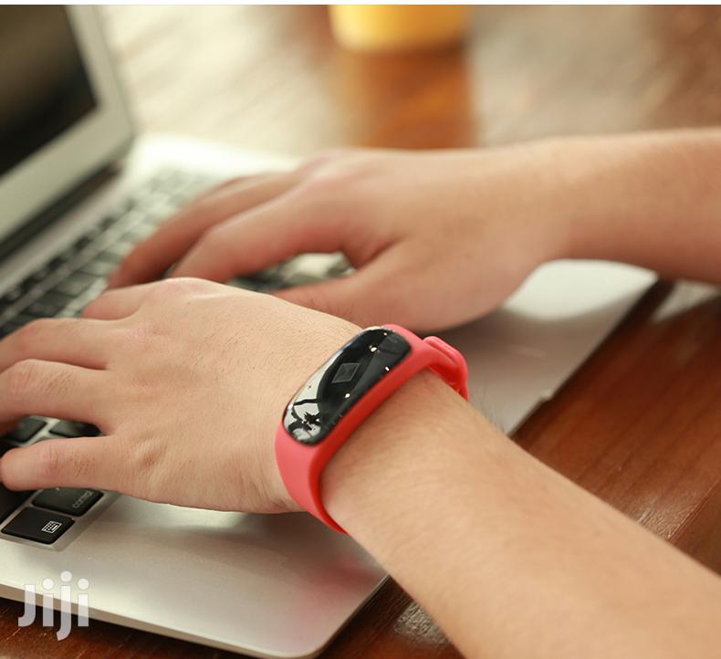 Smart Band Fitness Tracker N Heart Rate Blood Monitor   Smart Watches & Trackers for sale in Accra Metropolitan, Greater Accra, Ghana