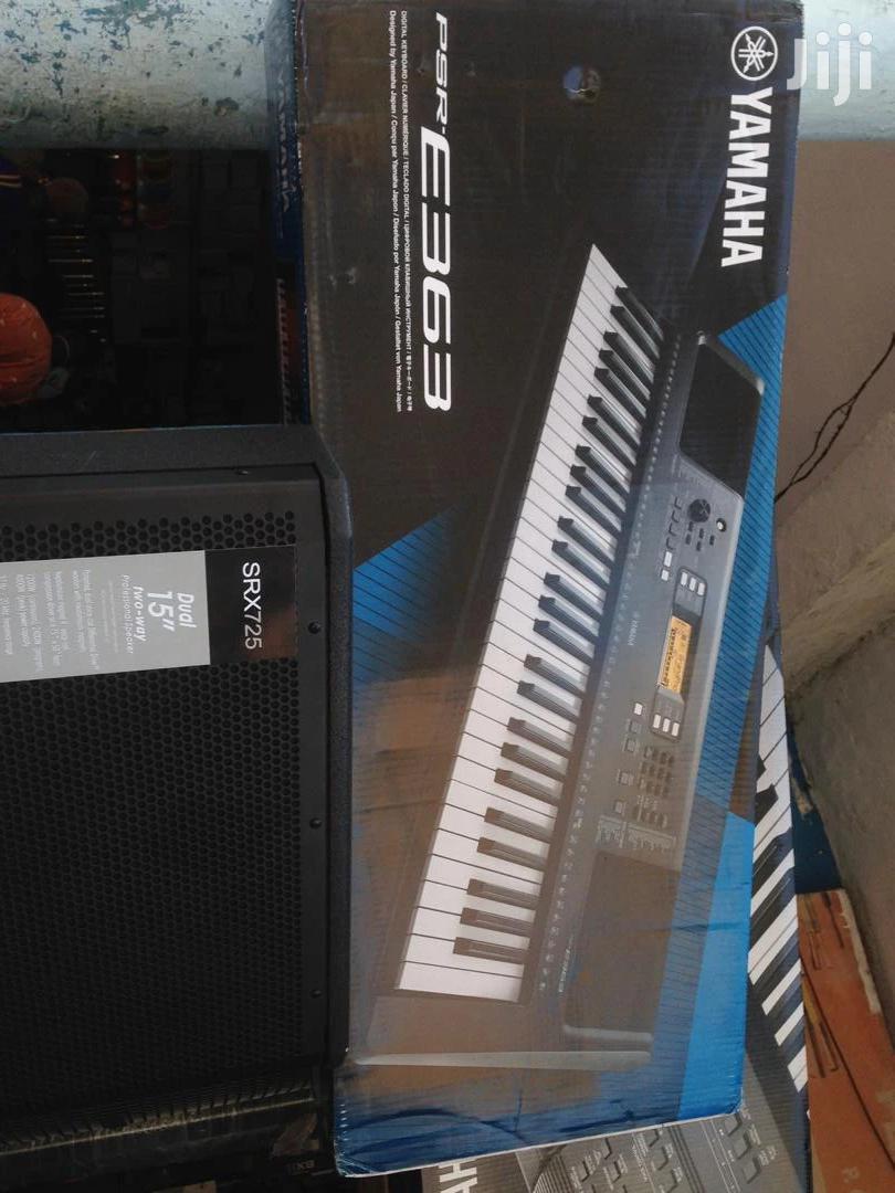 Archive: Yamaha E363 Keyboard For Sale