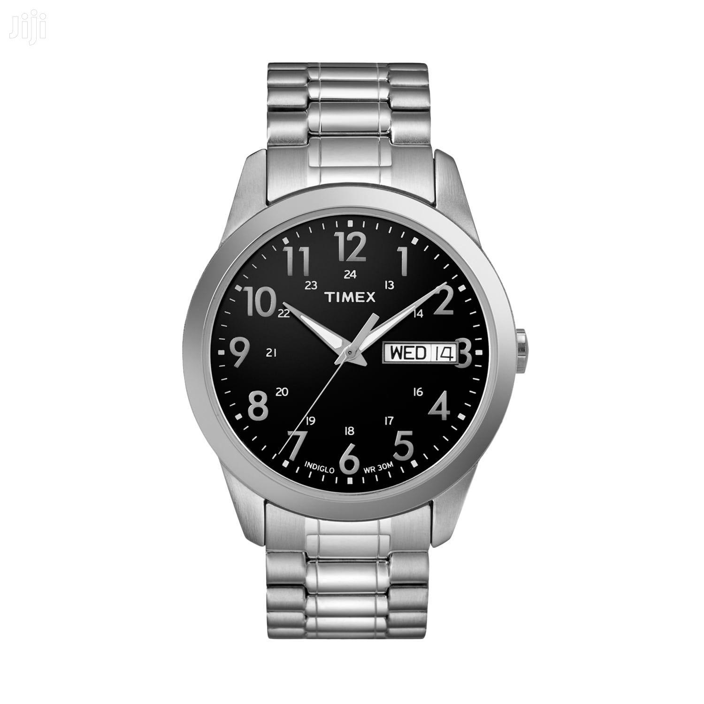 Timex South Street Silver-Tone Watch