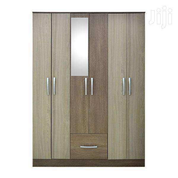 WARDROBE 6 DOORS WITH MIRROR   Furniture for sale in Adenta Municipal, Greater Accra, Ghana