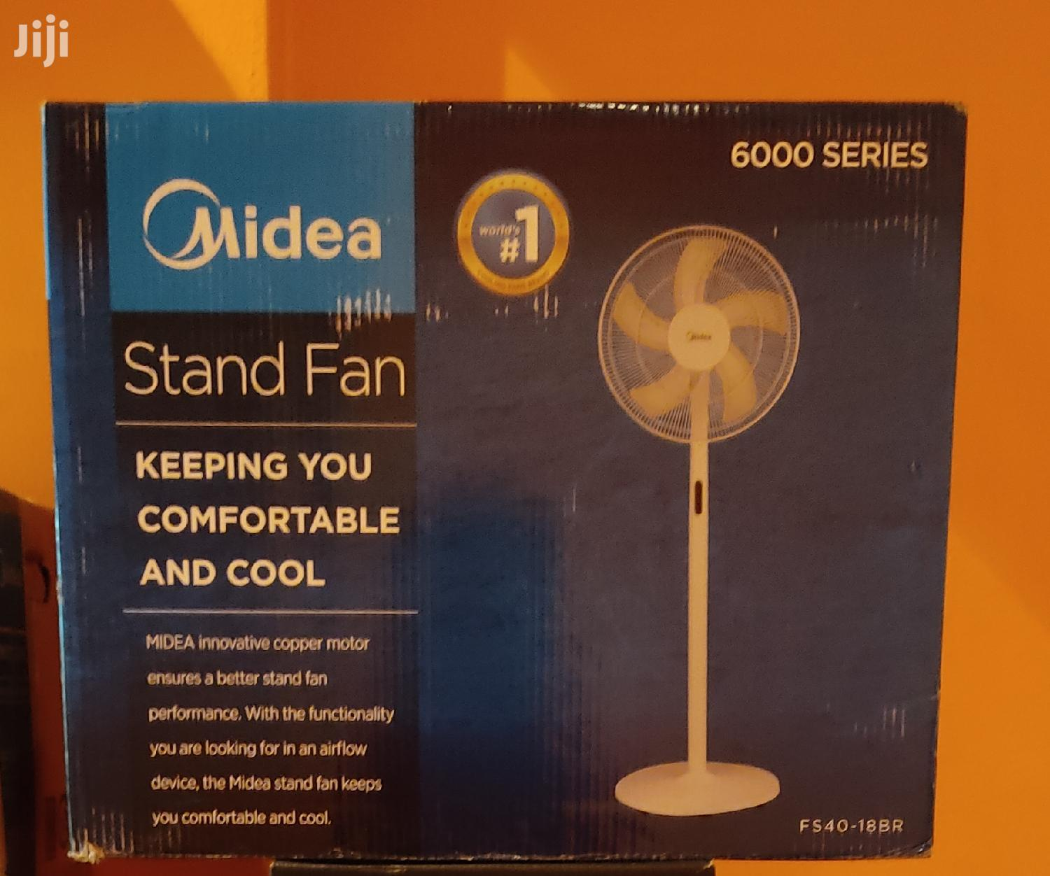 Brand New Midea Standing Fan With Remote