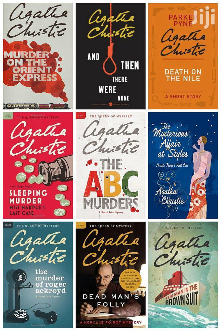 Agatha Christie Mystery Novel Collection (E-Books)