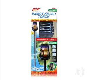 Pic Solar Powered Insect Killer Torch- Mosquito- Flies