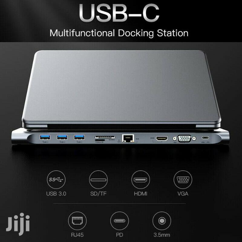 4K Docking Station Type C 10 In 1