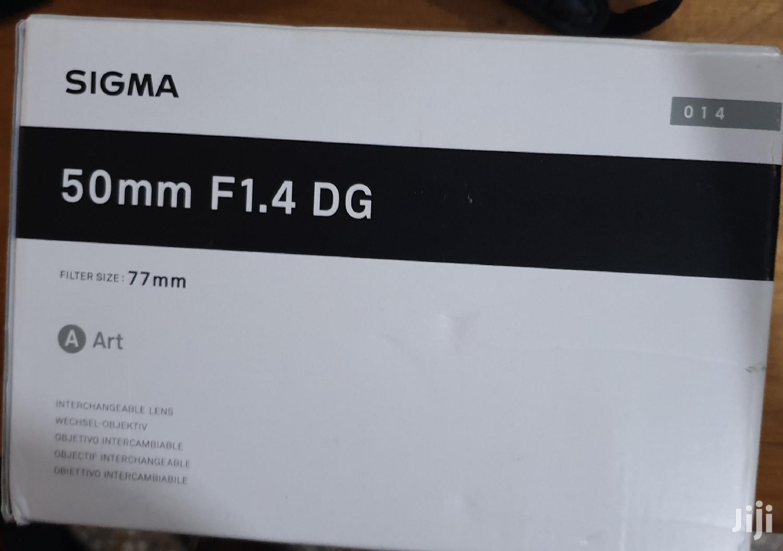 Sigma 50mm F/1.4 DG Art Lens