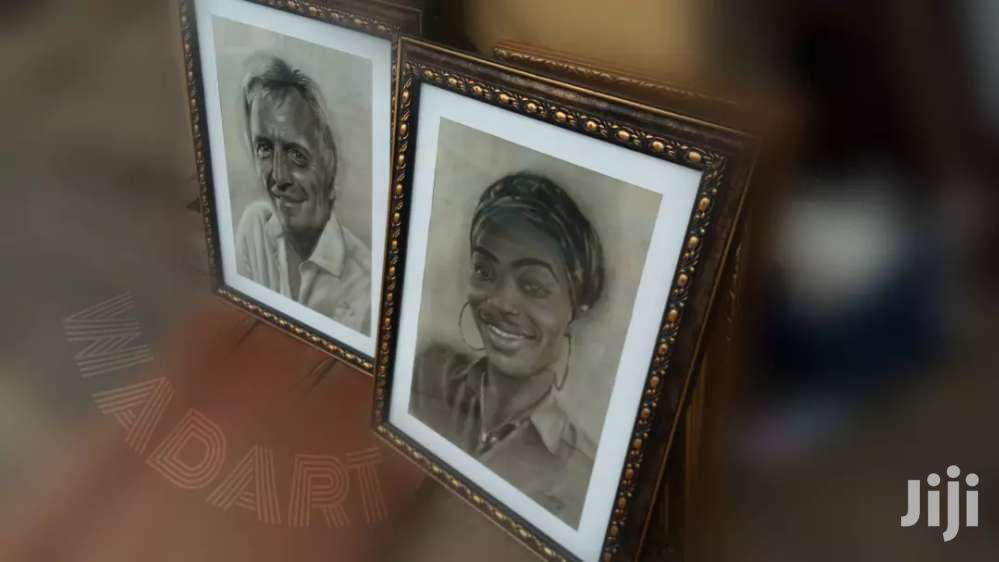 Portraits Pencil Drawing And Painting Art Works | Arts & Crafts for sale in Tesano, Greater Accra, Ghana