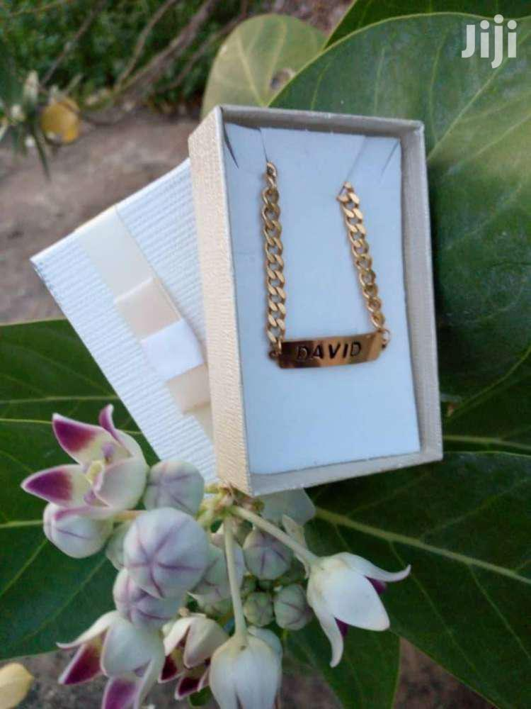Archive: Customised Chain Bracelets