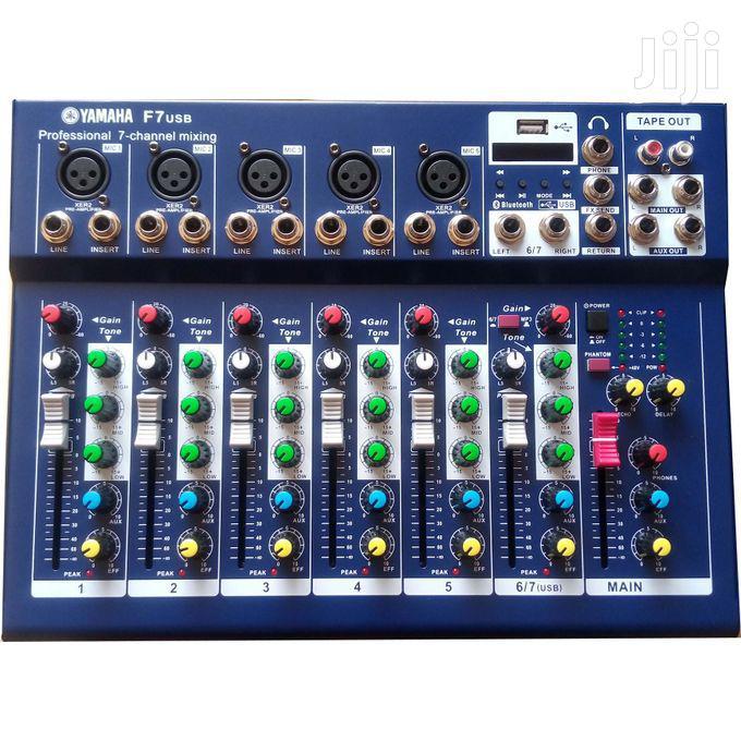 Yamaha 7 Chanel Mini Mixer | Audio & Music Equipment for sale in Dansoman, Greater Accra, Ghana