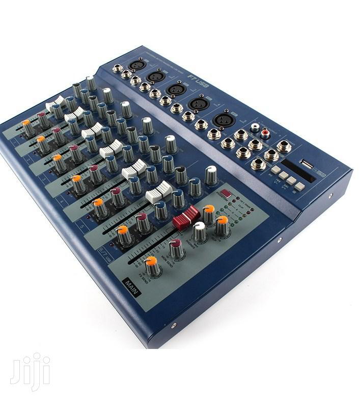 Yamaha 7 Chanel Mini Mixer