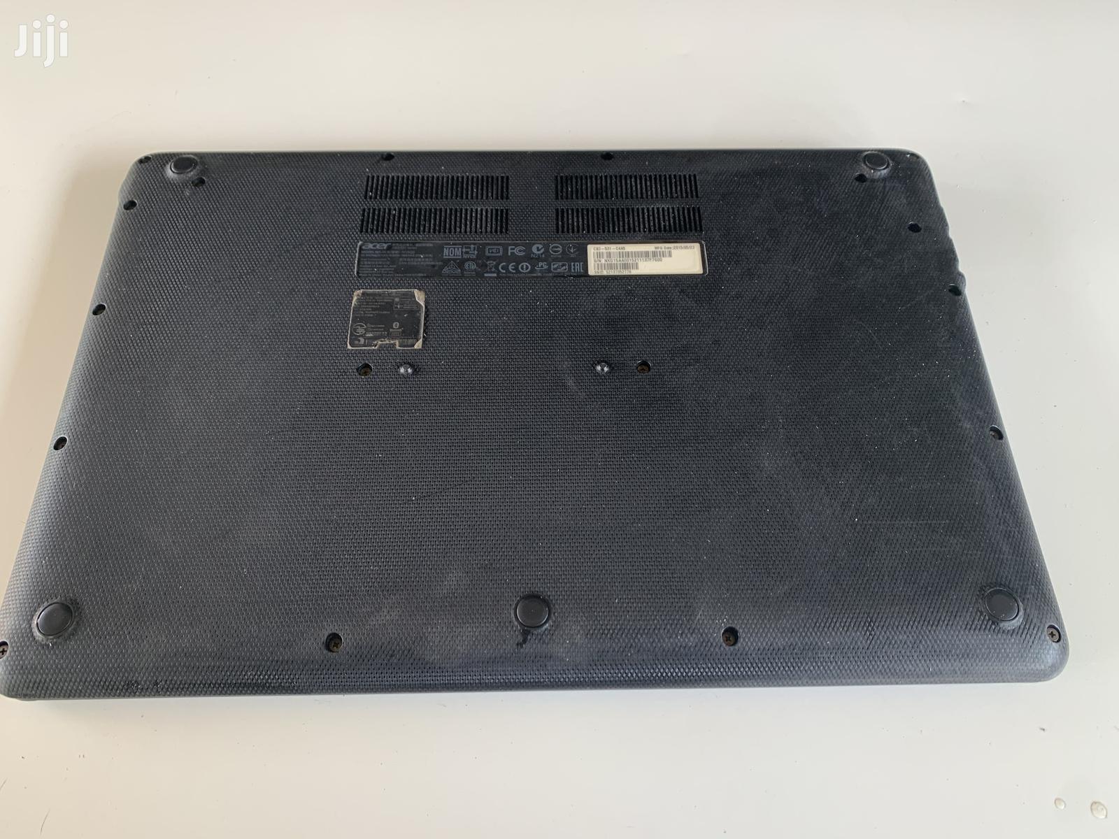 Archive: Laptop Acer Chromebook 15 2GB Intel Celeron SSD 16 GB