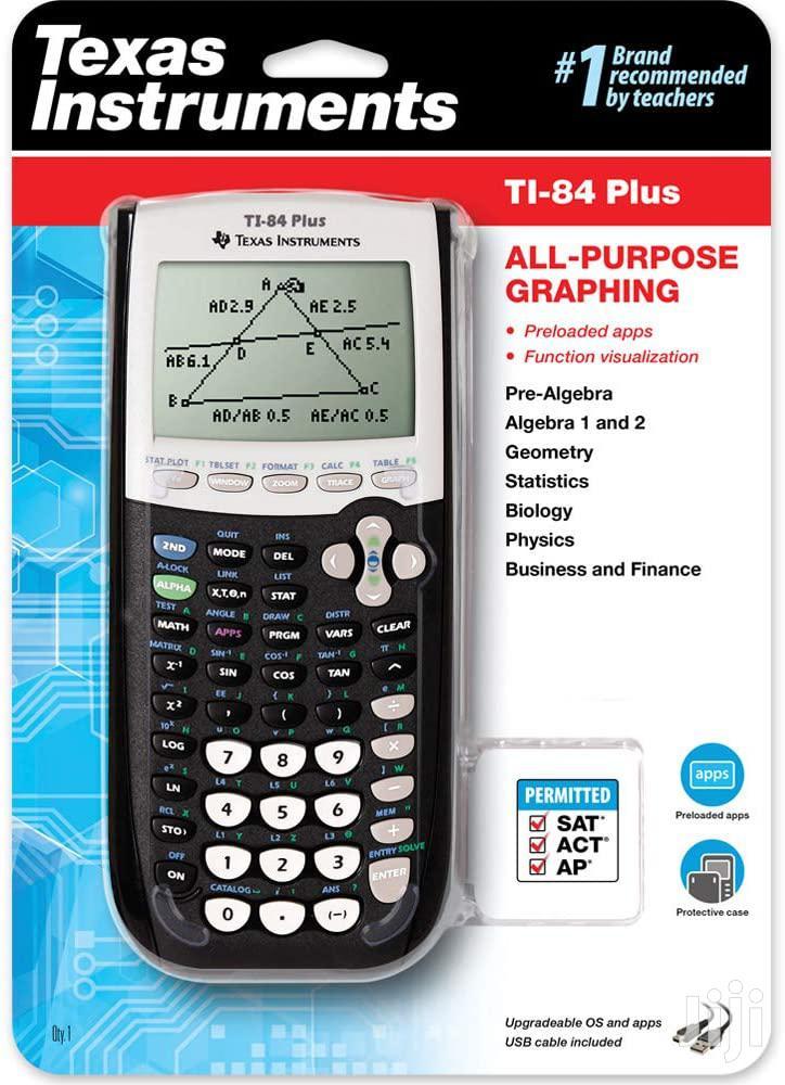 Texas Instrument Ti-84 PLUS Graphics Calculator- Black