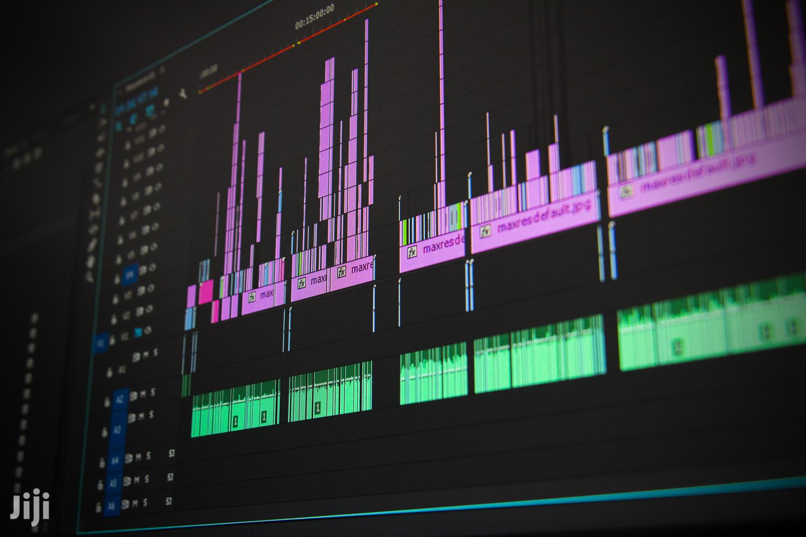 Archive: Professional Video Editing.