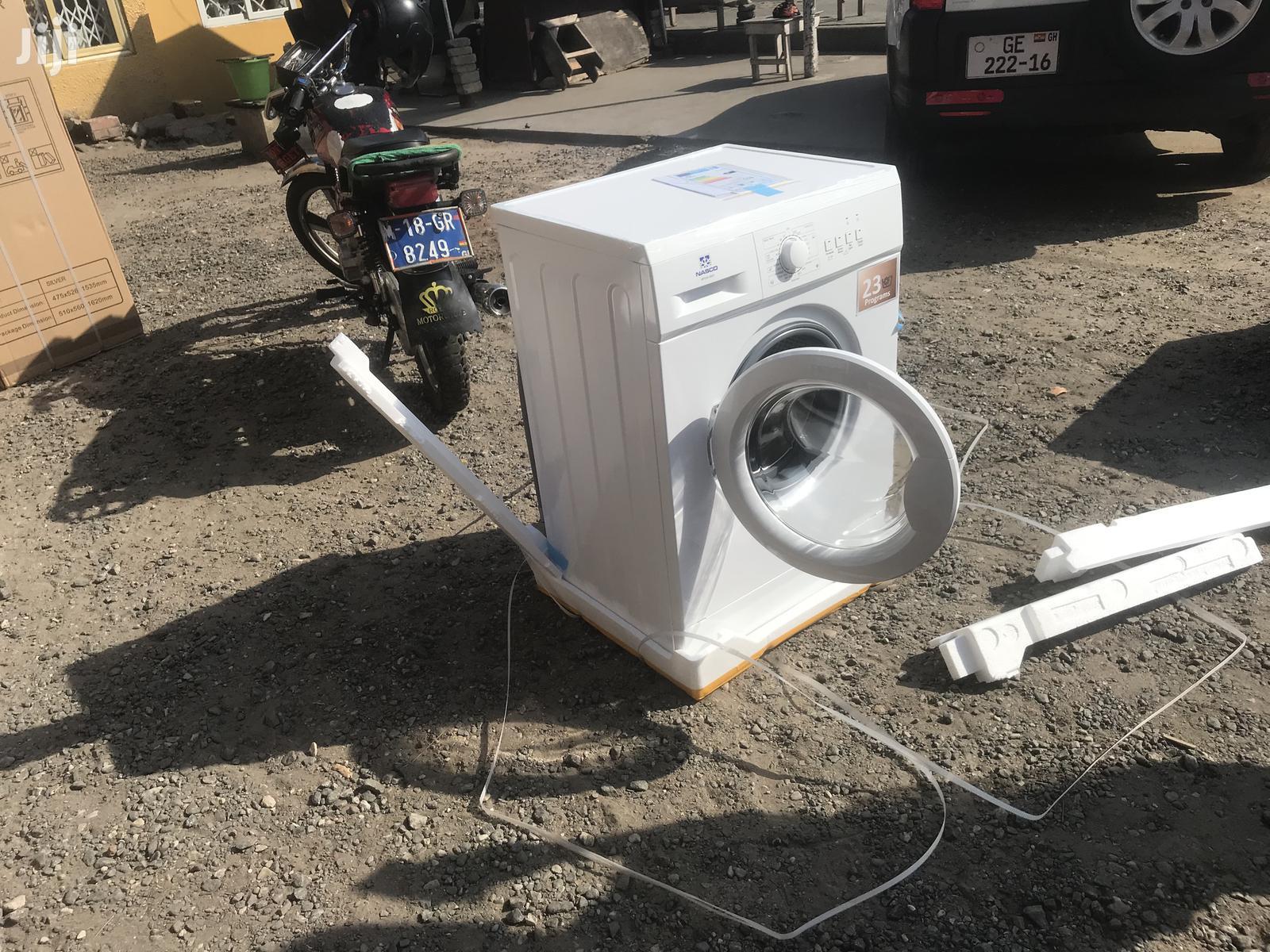 Full Automatic Nasco 6KG Front Load Washing Machine