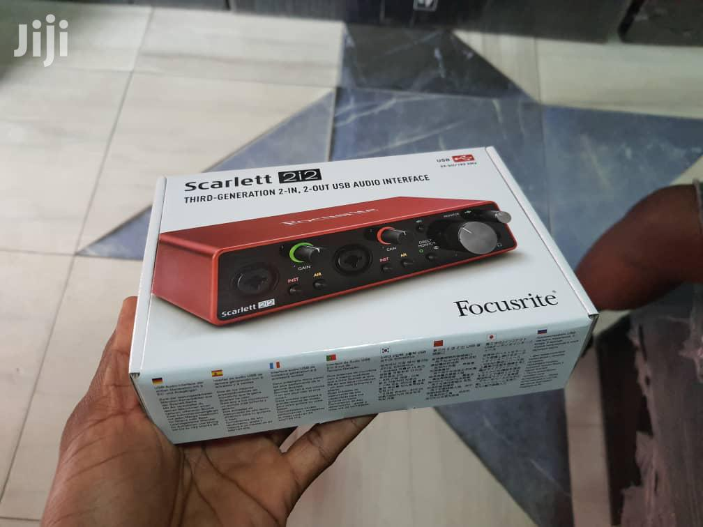 Archive: Focusrite Scarlett 2i2 3rd Generation Audio Interface
