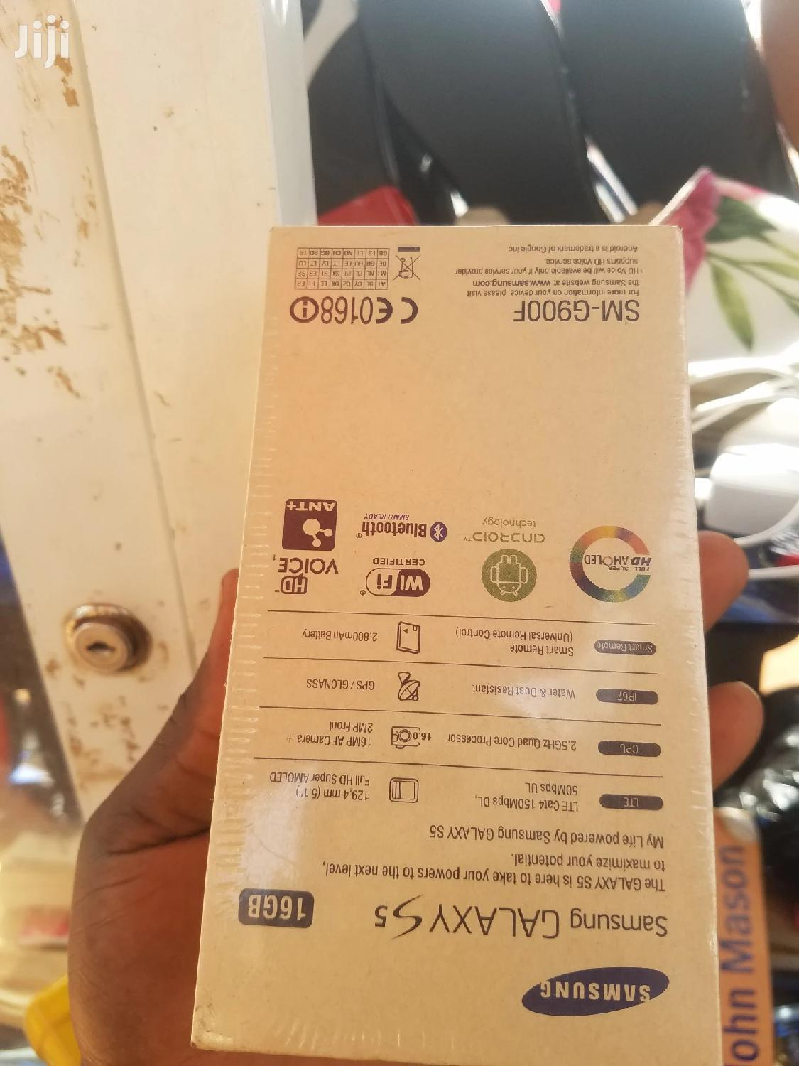 Archive: New Samsung Galaxy S5 16 GB White