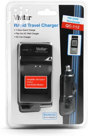 Rapid Battery Charger LP-E10 For Canon Rebel T3 T5 T6 Camera