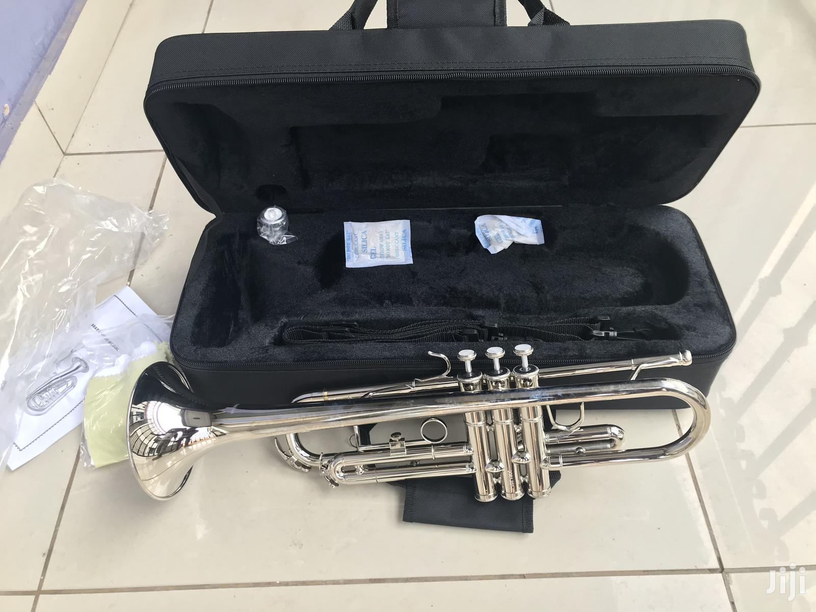 Trumpet- Silver