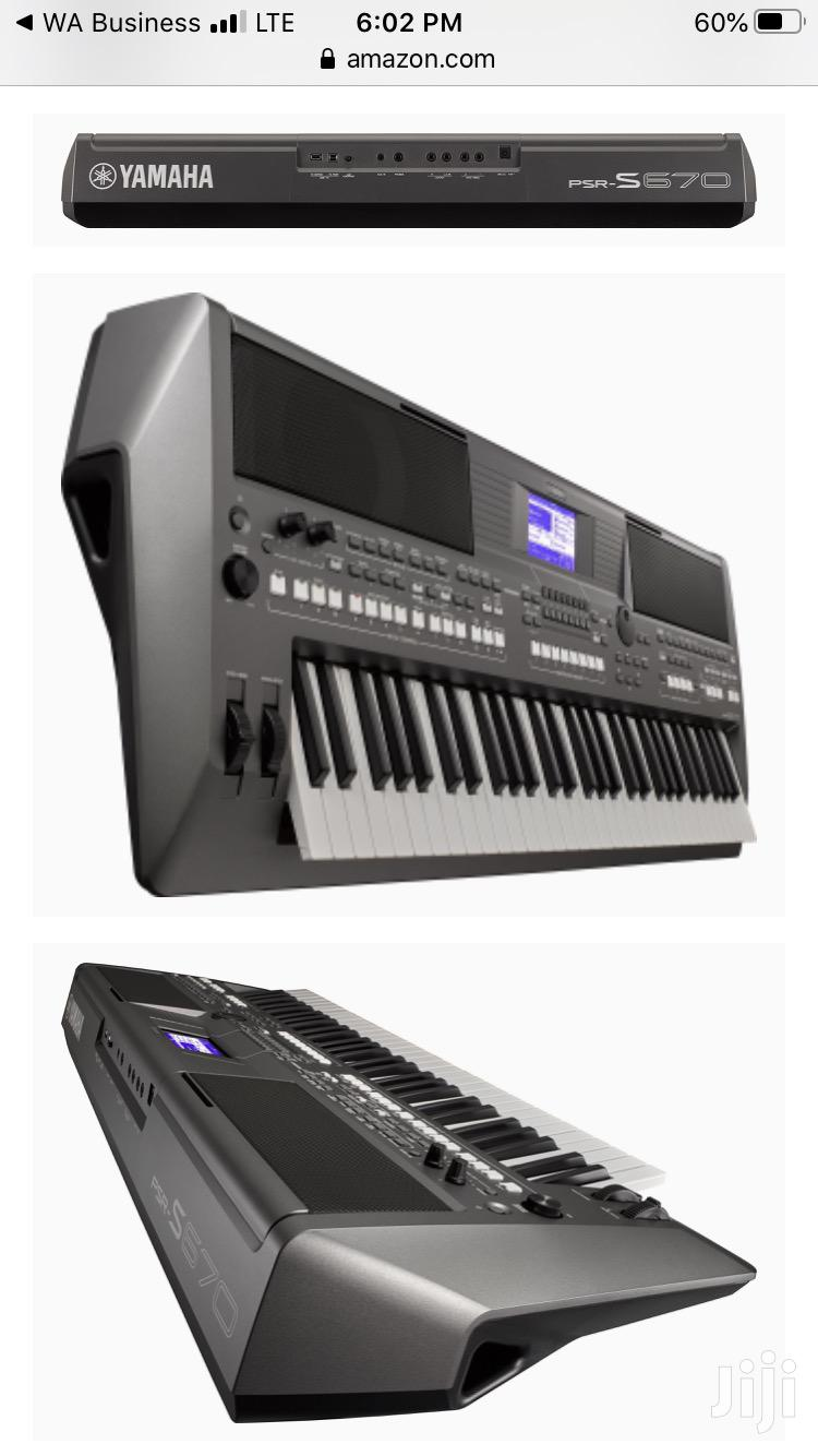 Yamaha PSR S 670 and Stand | Musical Instruments & Gear for sale in Accra Metropolitan, Greater Accra, Ghana