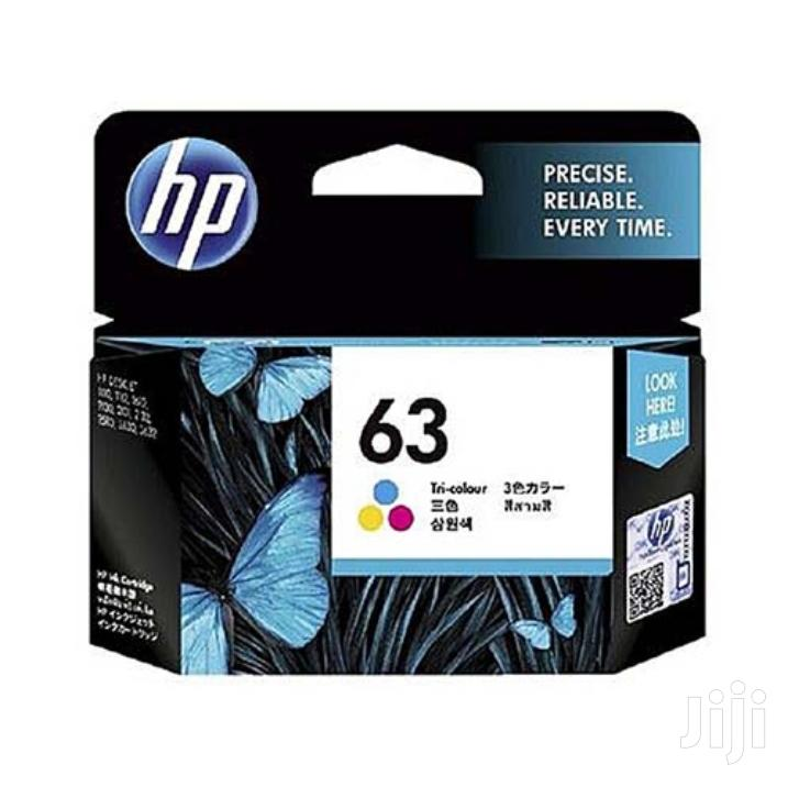 Archive: HP F6u61an 63 Ink Cartridge