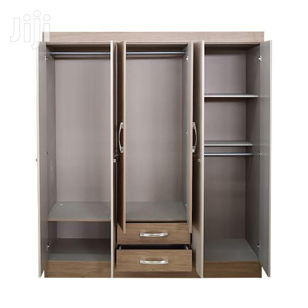 Wardrobe 6 Doors 2 Drawers