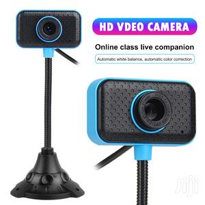 Webcam With Built-in Microphone For Video Conferencing, Live