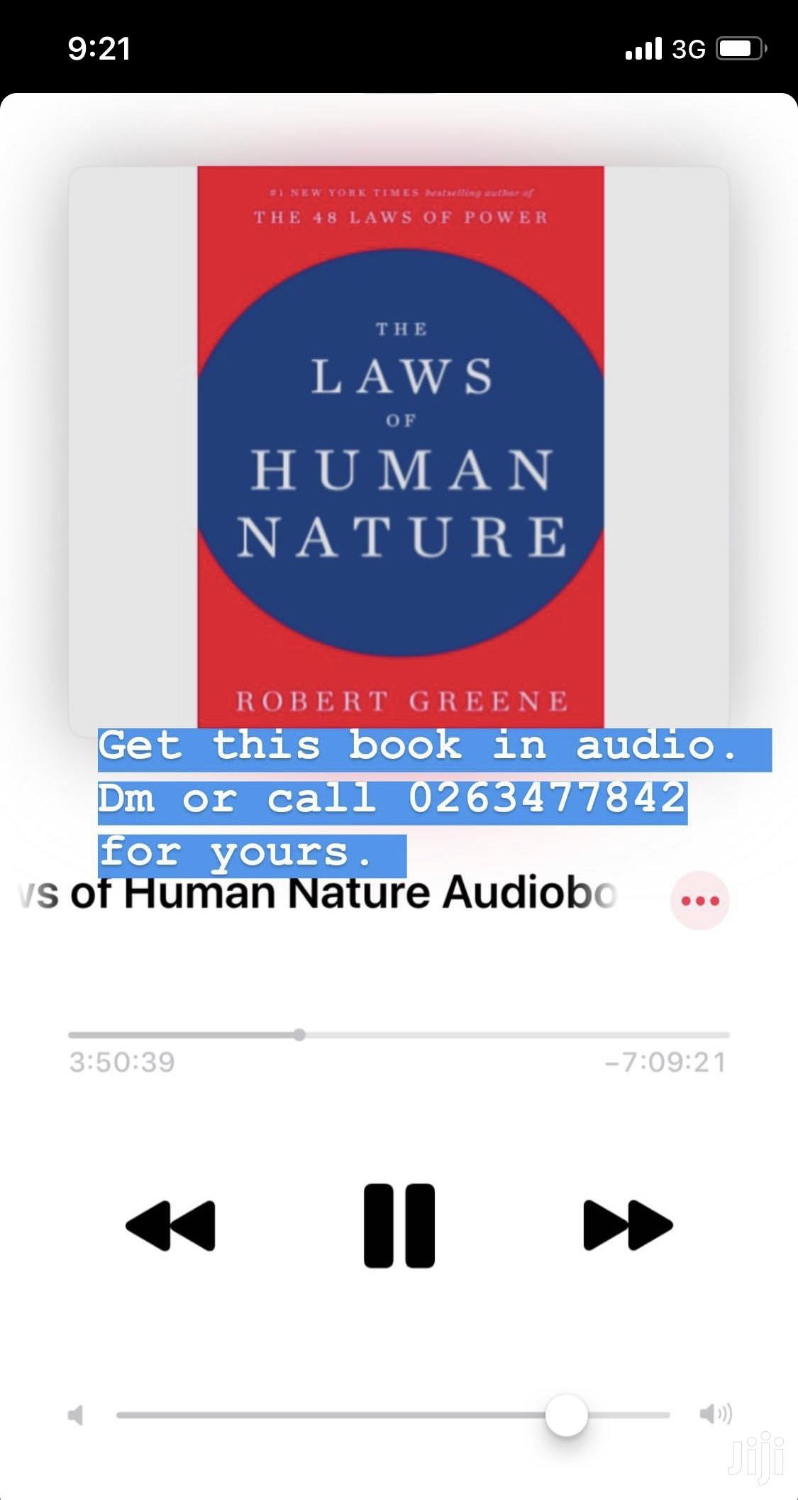 Archive: Audiobooks, Ebooks and Hardcopy Books for Sale
