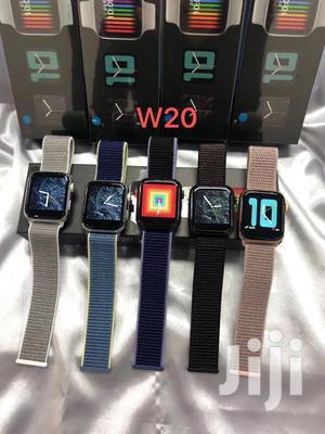 W20 Android IOS Bluetooth Smart Iwatch Nylon Strap