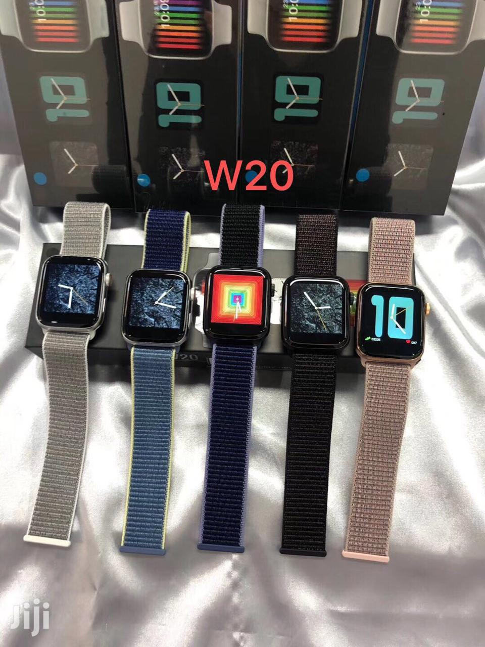 W20 Android IOS Bluetooth Smart Iwatch Nylon Strap
