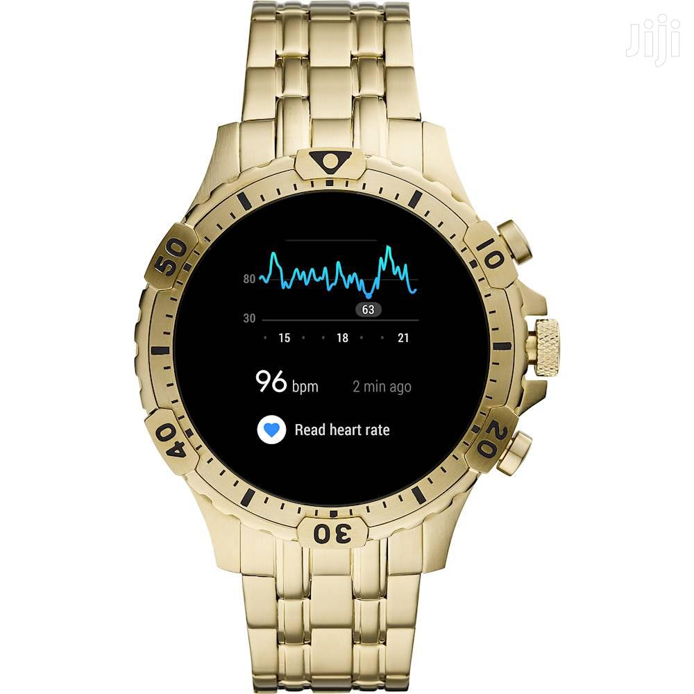 Fossil Smart Watch (Gold)