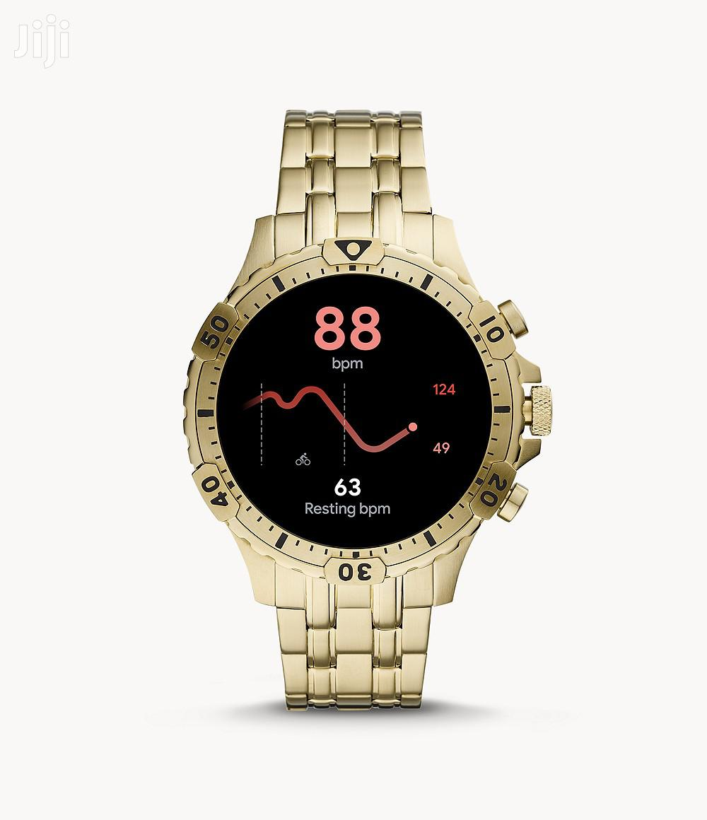 Fossil Smart Watch (Gold)   Smart Watches & Trackers for sale in Osu, Greater Accra, Ghana