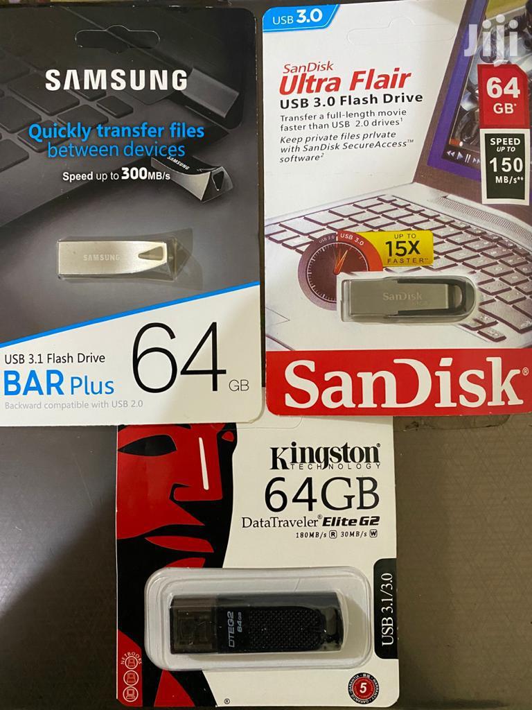 64GB Samsung / Sandisk / Kingston Original 3.0 USB Pen Drive