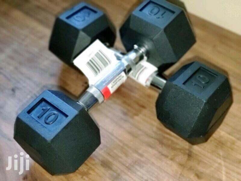 Dumbbell HEX 20kg | Sports Equipment for sale in Accra Metropolitan, Greater Accra, Ghana